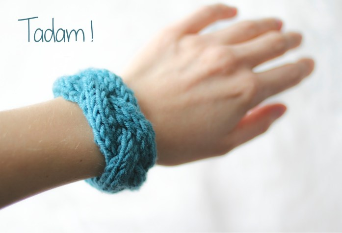 tuto bracelet en tricot a way of travel