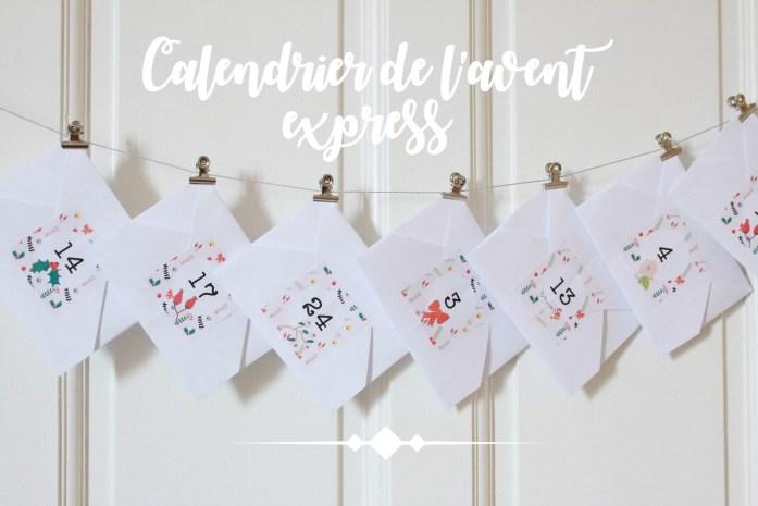 DIY avecses10ptitsdoigts tutoriel gratuit pour confectionner soi-même un calendrier de l'avent beau et original