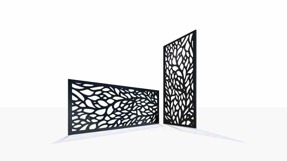Claustra design motif 39 nature feuillage