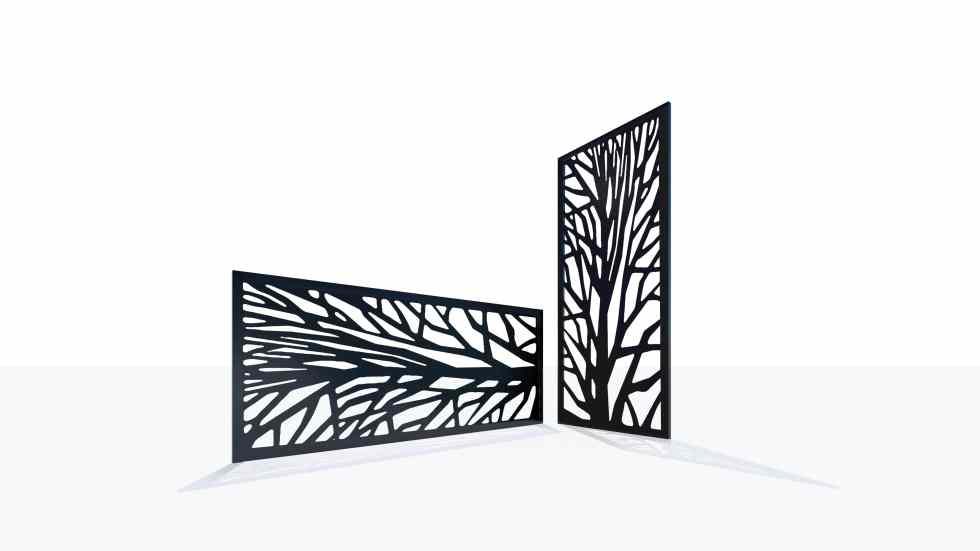 Claustra design motif 48 nature arbre