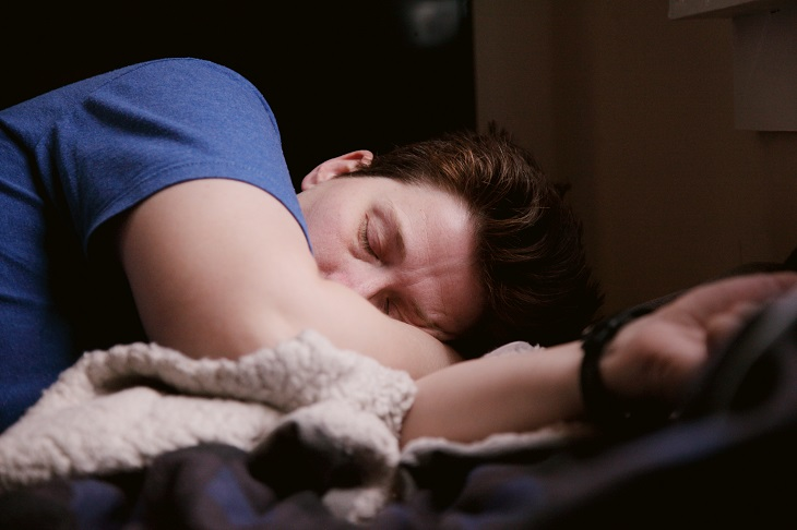 person with chronic fatigue