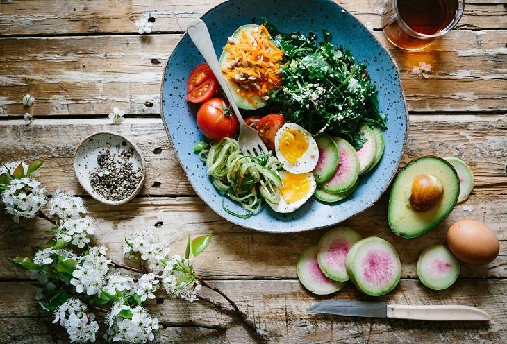 nutritious healthy diet food