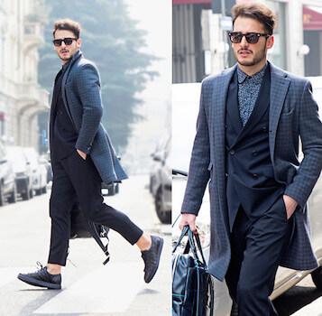 イタリアンファッションコーデ4