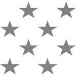 Design-Element stars für mediven 550 Bein