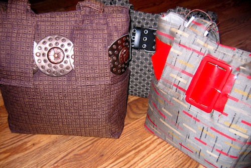 Just a few of Cathy's purses