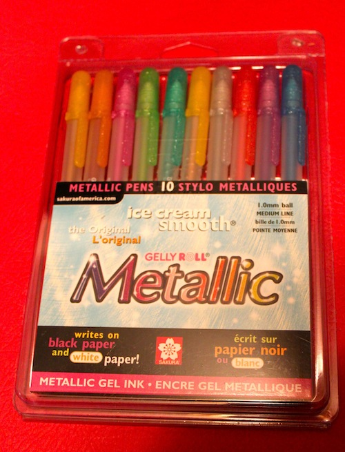 Gelly Roll Metallic Pens