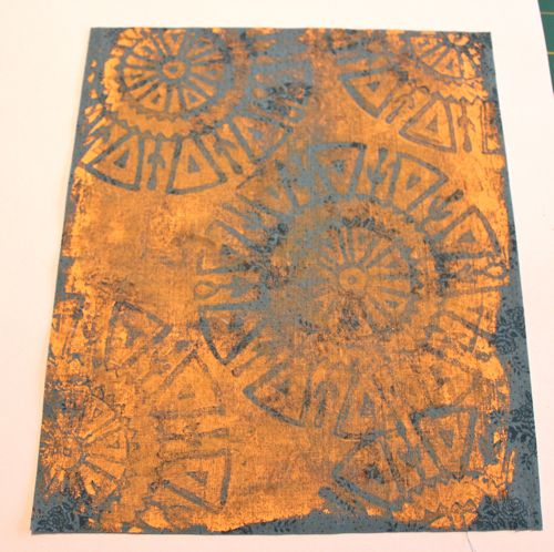 Print with commercial fabric