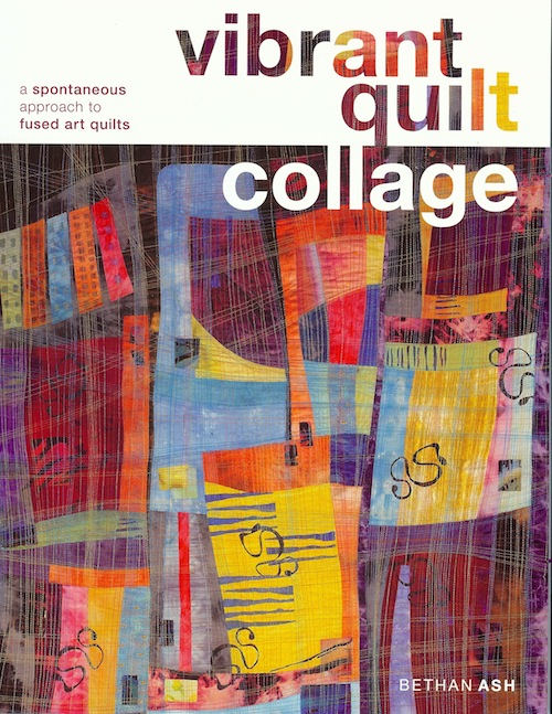 Vibrant Quilt Collage by Bethan Ash
