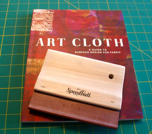 Art Cloth and squeege