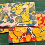 Marbled paper using PRO Marbling Paint