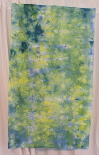 Over ice dyed fabric