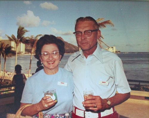 Mildred and Francis Heines