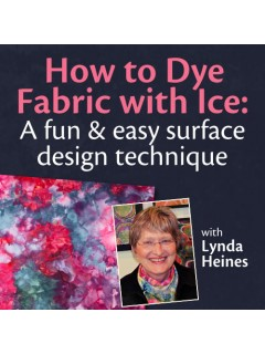 How to Dye Fabric with Ice webinar