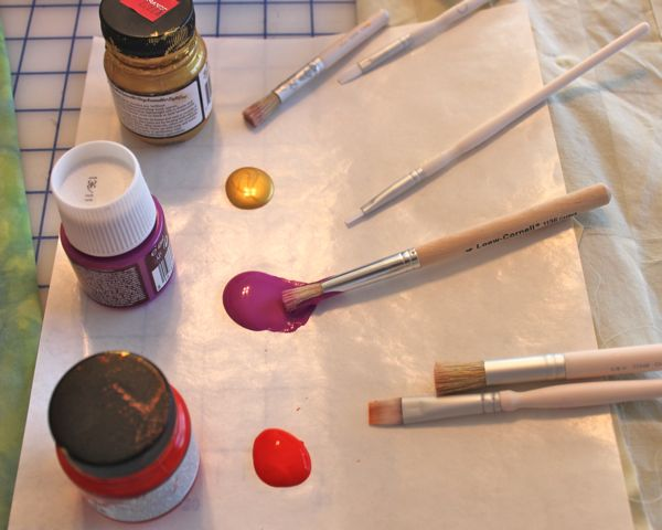 fabric paints for mosaic
