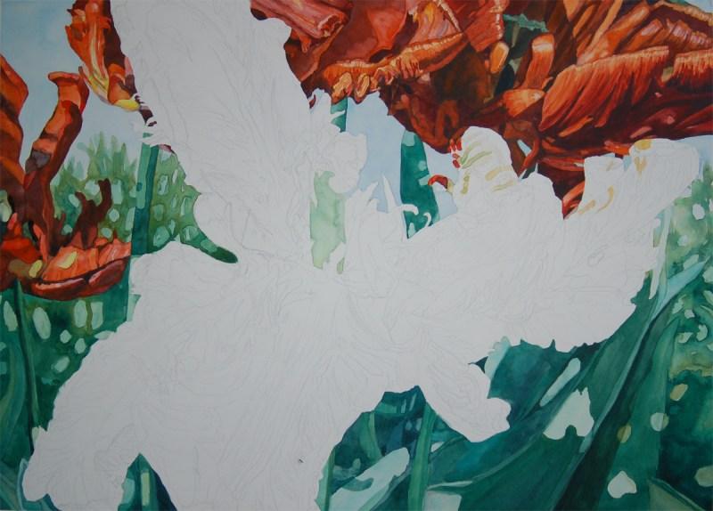 Tulip step 6 - Lynda Hoffman-Snodgrass