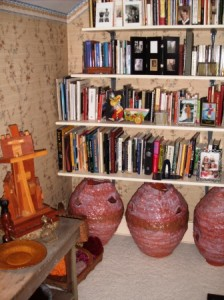 Shelves of Books