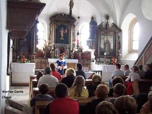 Werfen Castle Chapel, Werfen, Austria