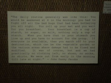 Quote about POW life in Japan by John Dunky Jacobs