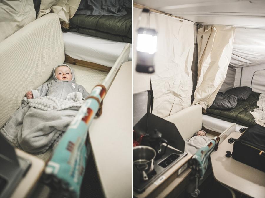Popup Camper Road Trip