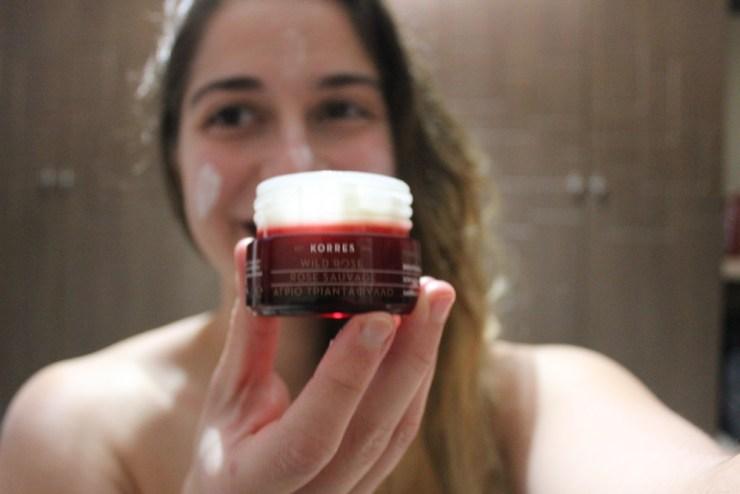 Korres Malta Wild Rose Brightening & First Wrinkles Advanced Repair Sleeping Facial
