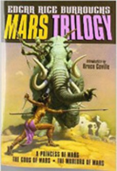 Princess of Mars, Trilogy book cover, lynettemburrows.com