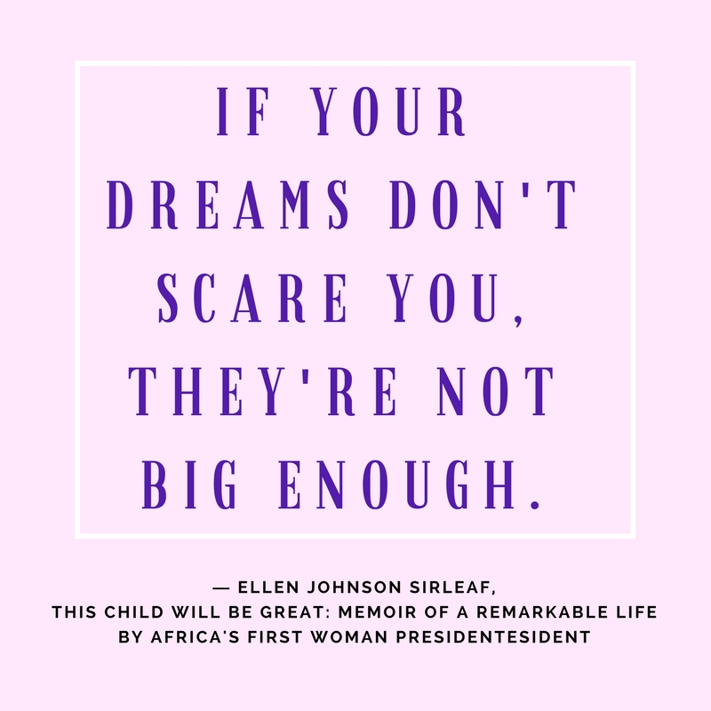 Would you give up one Saturday to Dream Fearlessly? I'm taking inspiration from a project of the American Family Insurance company.