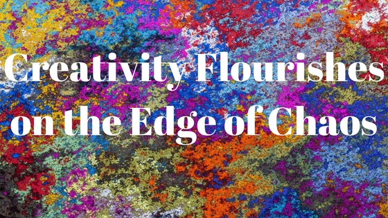 There have been many studies that say that creativity flourishes at the edge of chaos. Typically these articles refer to fostering creativity in school children. What if you aren't a school child? What if you're a creative trying to find your creativity in a time of chaos?