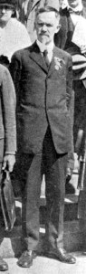 Photograph of Charles Davenport an American eugenicist who was part of my inspiration from real-life heart-wrenching history for my book, My Soul to Keep.