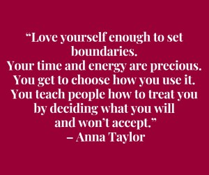 take care of yourself--love yourself quote by ana taylor