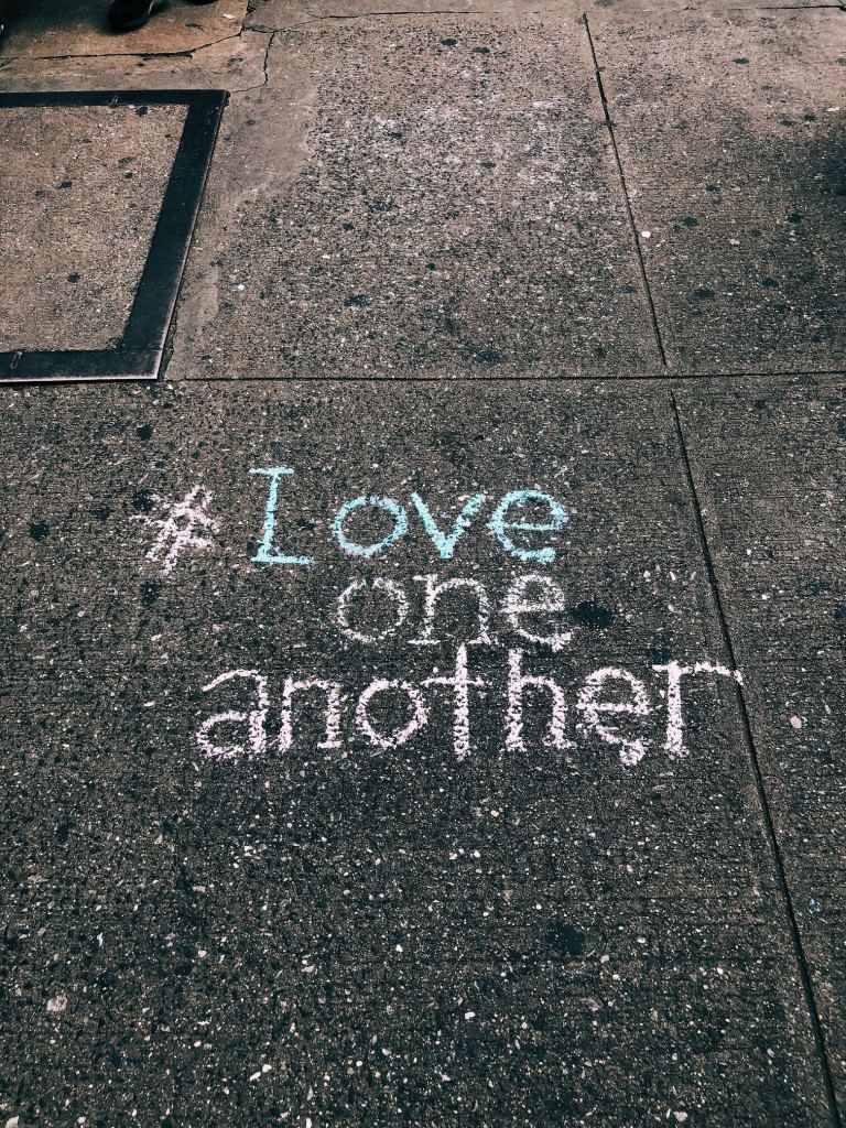 In this month of love--love one another. A known concept for centuries...