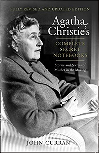 Image of the book, Agatha Christie's Complete Secret Notebooks transcribed by her grandson they detail her writing success