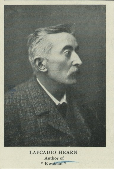 Image of Lafcadio Hearn, translator of Japanese Fairy Tales on lynettemburrows.com for her Story Time Reviews a Japanese Fairy Tale post.