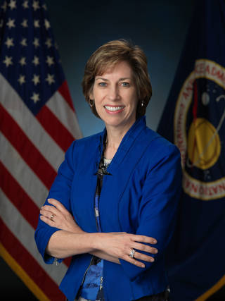 Dr. Ellen Ochoa, Director of Johnson Space Center and an inspiring woman