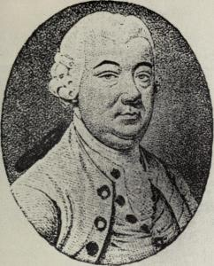 Image of Sir William Johnson, Molly's common law husband. There are no known photos of Molly, Spy, Loyalist, and Diplomat