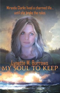 cover of My Soul to Keep by Lynette M Burrows from which the first line is taken