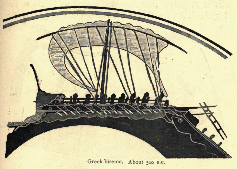 Sneak peek at Paladina includes this illustration of a Greek sailing vessel on ancient Greek pottery.