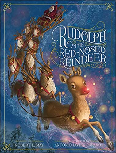 image of the cover of Robert L. May's book available on Amazon--Do You Know Rudolph?