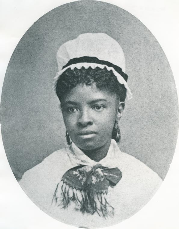 Image of graduate nurse Mary Eliza Mahoney--she made history as the first African-American Professional Nurse