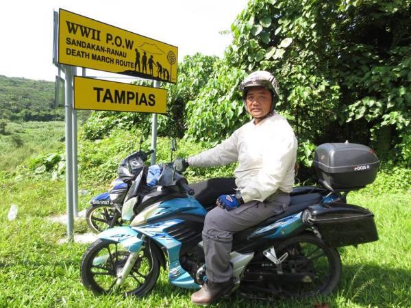 POW sign at Tampias