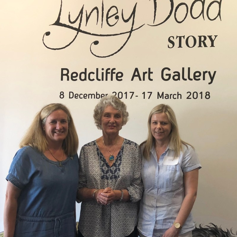 Redcliffe Art Gallery with Lynley Dodd