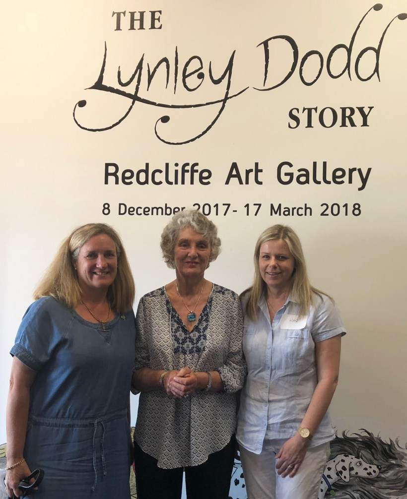Penelope Jackson, Dame Lynley Dodd and Lyn Halliday