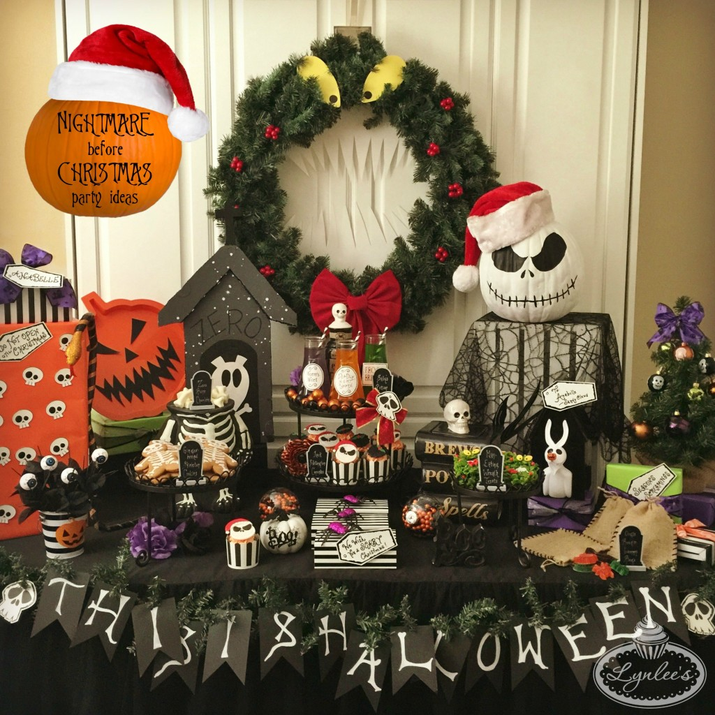 Nightmare Before Christmas Birthday Party: The Nightmare Before Christmas Decoration Ideas