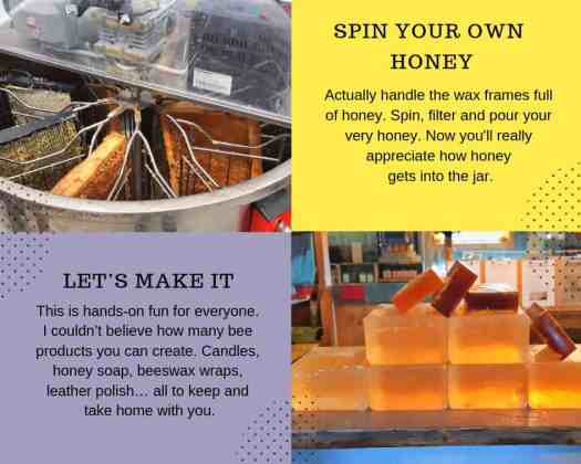 Honey spinning and maker spaces