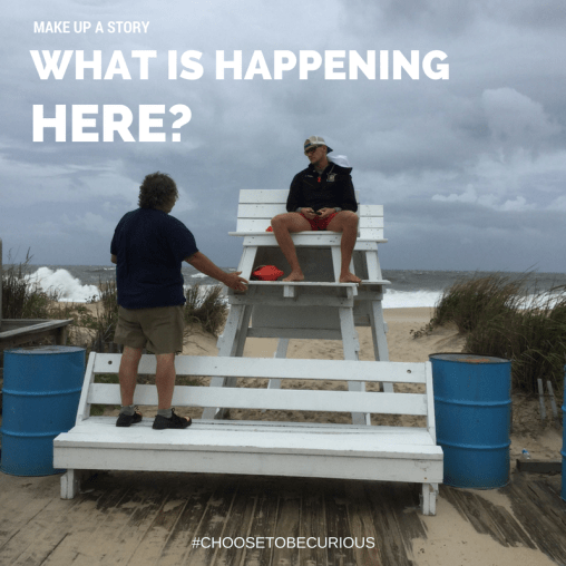 """Rehoboth Beach Curiosity Walk A """"curiosity walk"""" is like a scavenger hunt – it encourages you to choose to be curious wherever you go. What makes you want to know more?"""