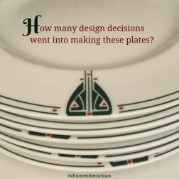 Kitchen - how may design decisions went into making these plates