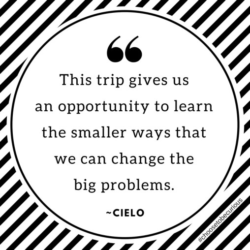 Cielo - Small ways to change big problems