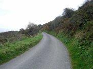 Road to Pwllgwaelod, Pembrokeshire, Wales