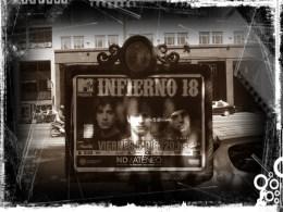 Street billboard in Buenos Aires