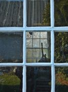 Shed window in rural Ontario