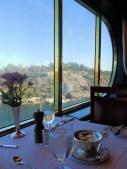stockholm archipelago from cruise ship window